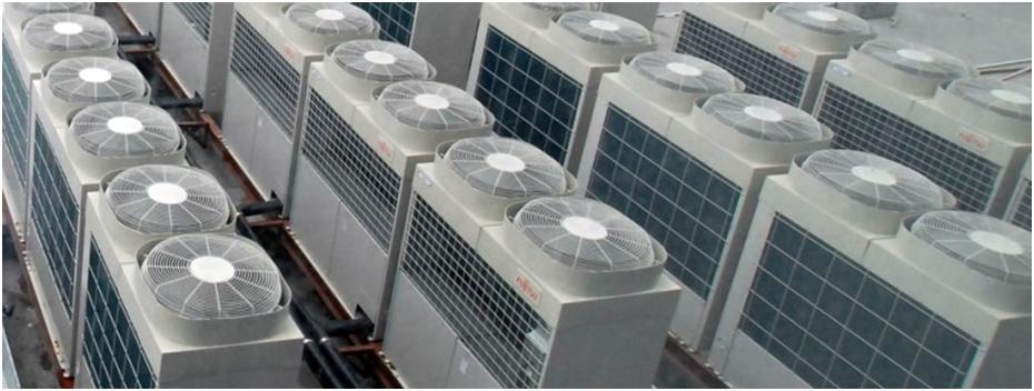 Охлаждение воздуха на промышленном объекте