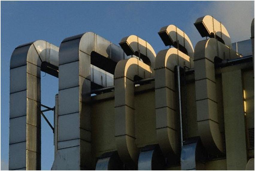 Промышленные воздуховодные каналы