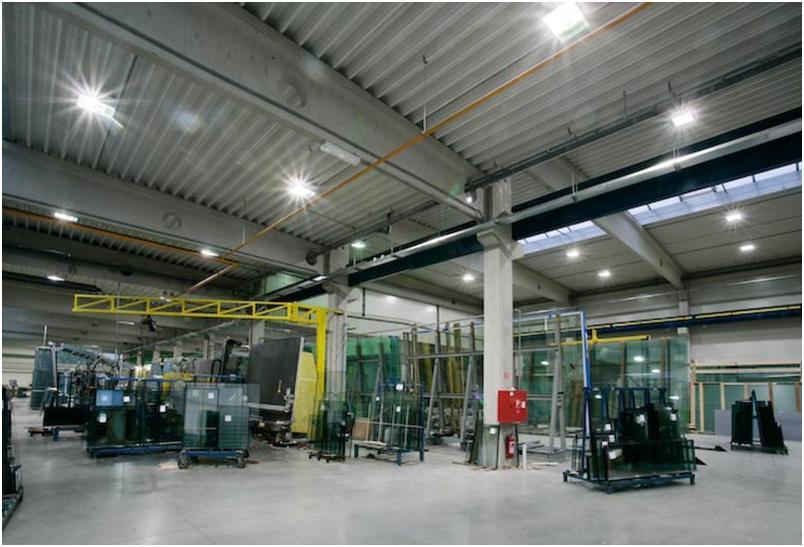 Вентиляция производственного объекта