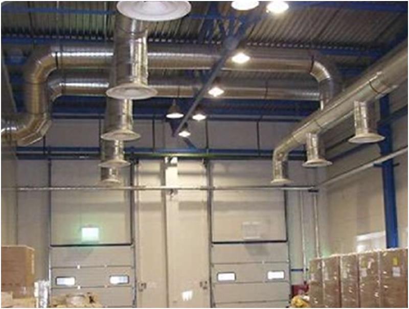 Воздухообмен производственного помещения