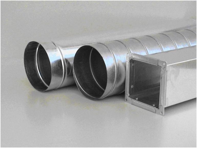 Вентиляционные трубы разного сечения
