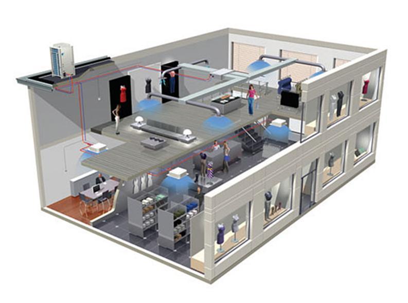 Система производственной вентиляции