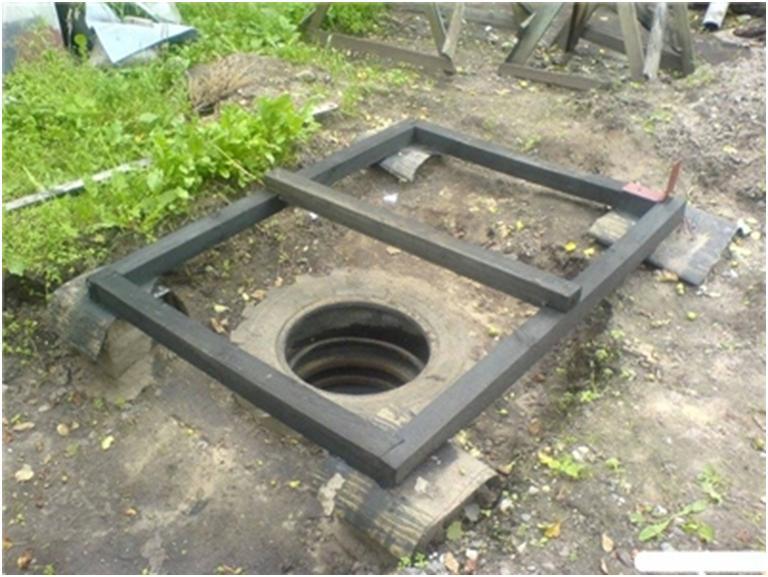 Возведение туалетной кабинки на даче
