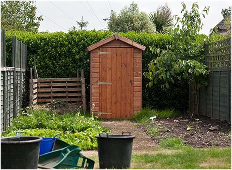 Санузел на садово-огородном участке