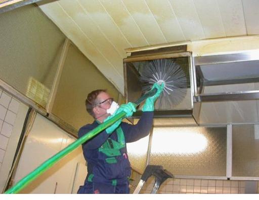 Обслуживание вентиляционного воздушного канала