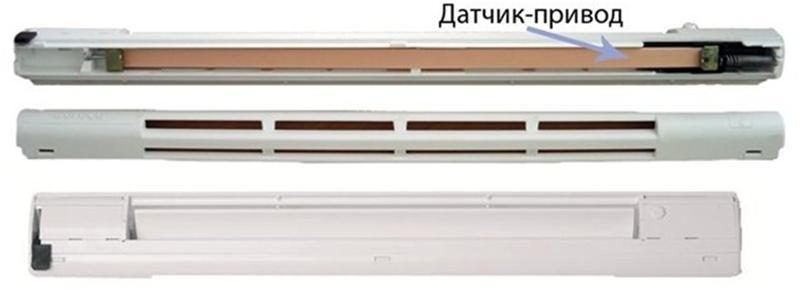 Вентиляционный клапан для окна