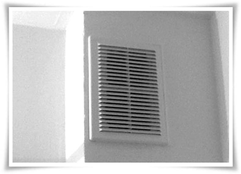 Вход в вентиляционный вытяжной канал