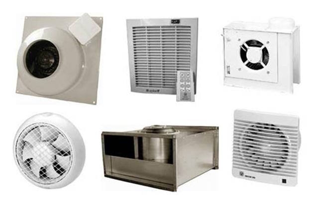 Виды вентиляционного оборудования