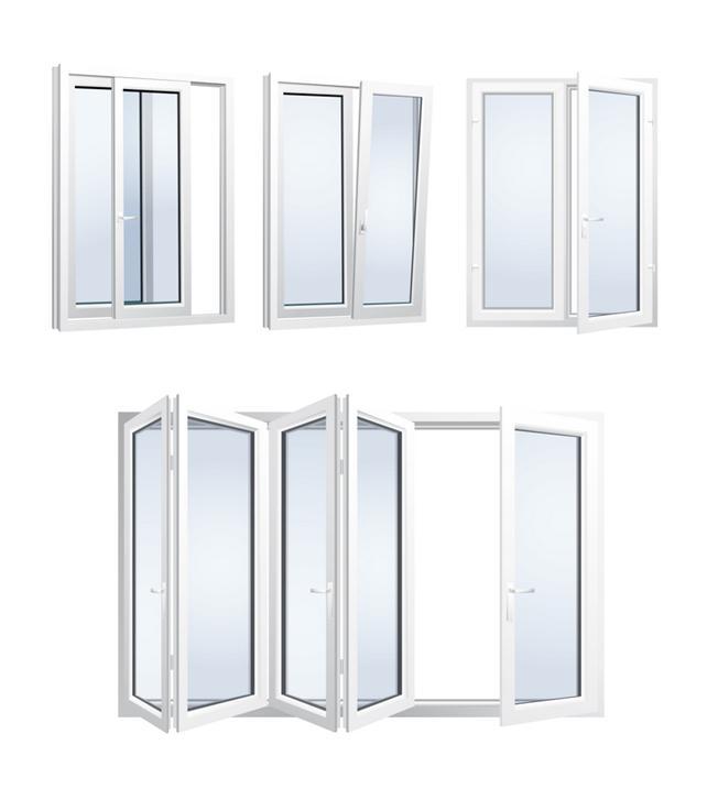 Образцы металлопластиковых окон