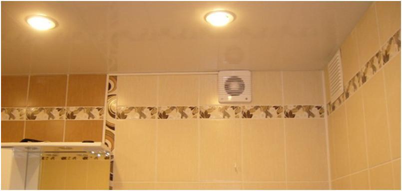 Вытяжка воздуха в ванной