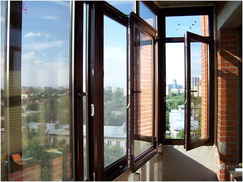 Герметичные металлопластиковые окна