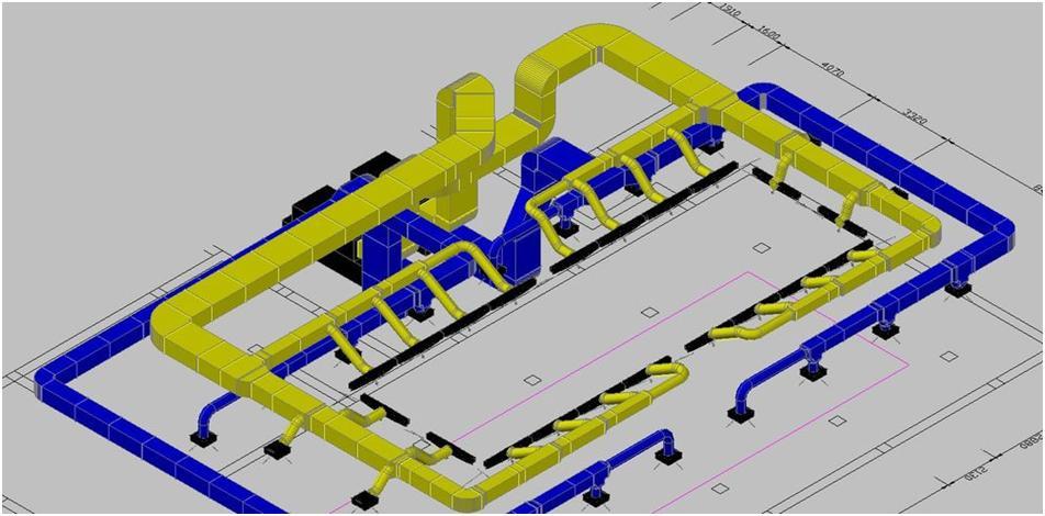 Разработка вентиляционного производственного комплекса
