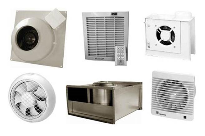 Образцы вентиляционных устройств
