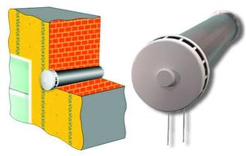 Стеновой клапан вентиляции