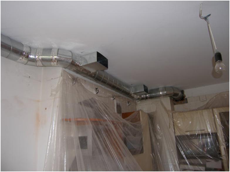 Вентиляционный канал в квартире