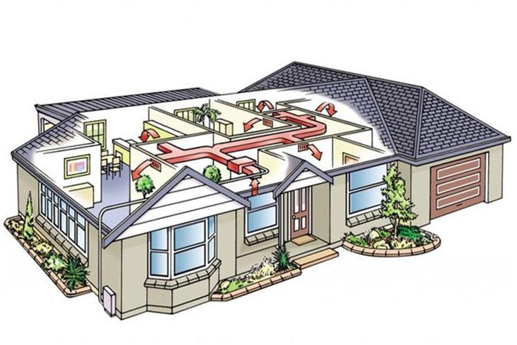 Система искусственного вентилирования дома