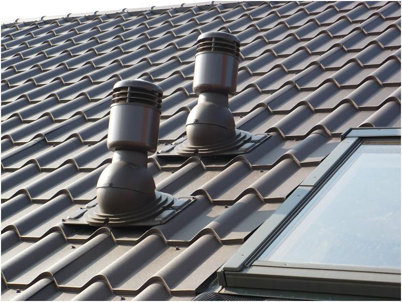 Вентиляционное оборудование на крыше