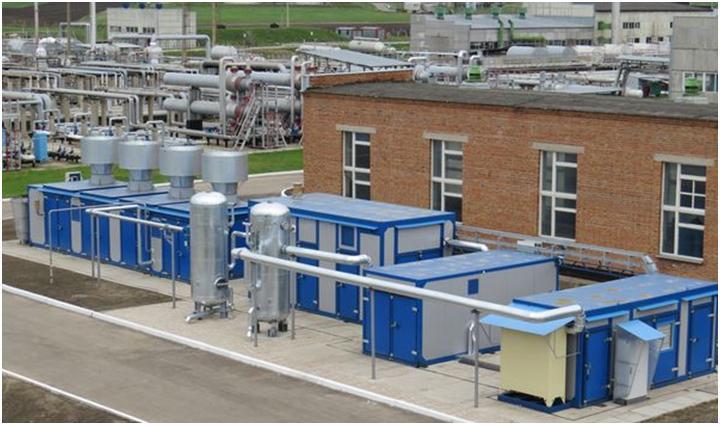 Вентиляционный комплекс на производстве