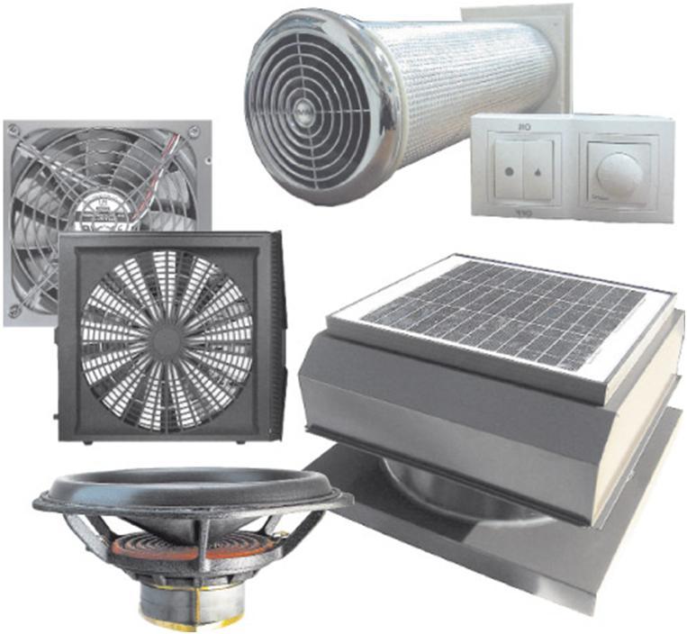 Образцы вентиляционных приборов