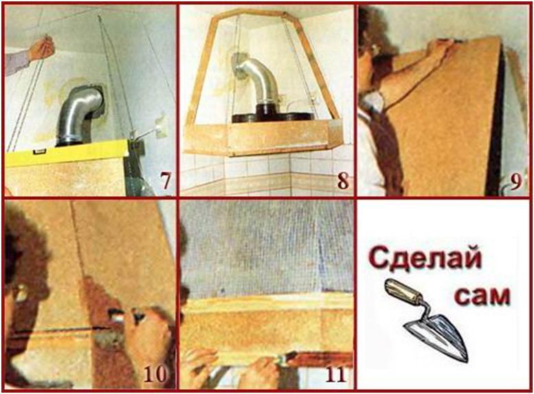 Как самим сделать вытяжку на кухню