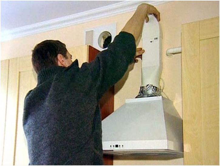 Вытяжка на кухню своими руками схема