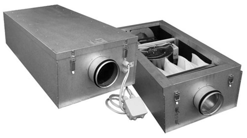 Современный приточный бытовой аппарат