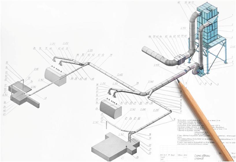 Проект вентиляционного комплекса
