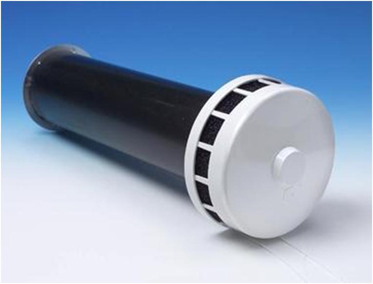 Прямой вентиляционный клапан стенового типа