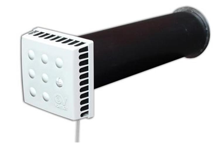 Вентиляционный стенной клапан