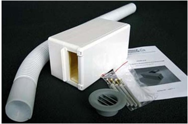 Комплект стенового клапана приточной вентиляции