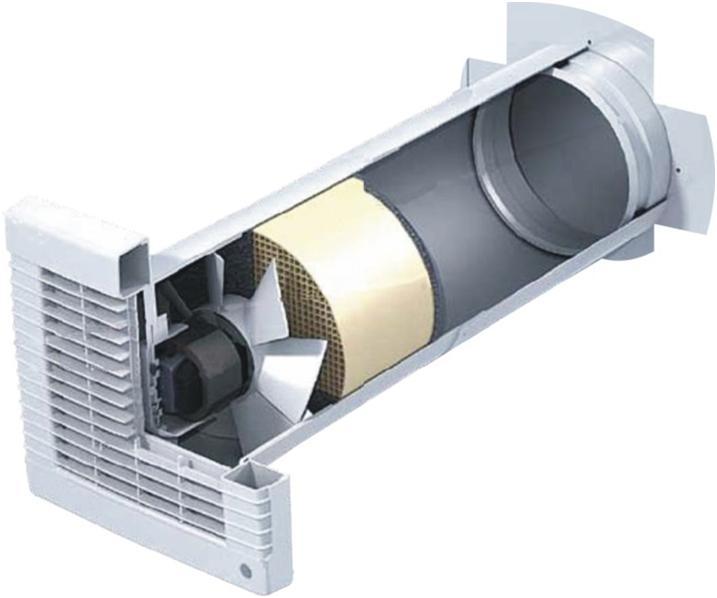 Вентиляционный канал в разрезе