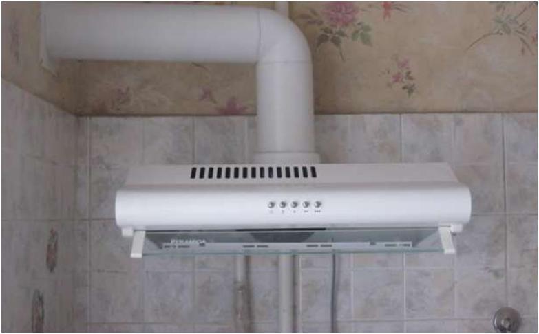 Организация вытяжной вентиляции на кухне