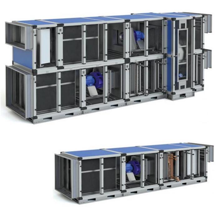 Вентиляционное оборудование промышленного типа