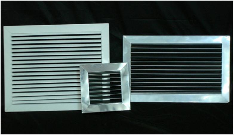 Разновидности решеток вентиляции