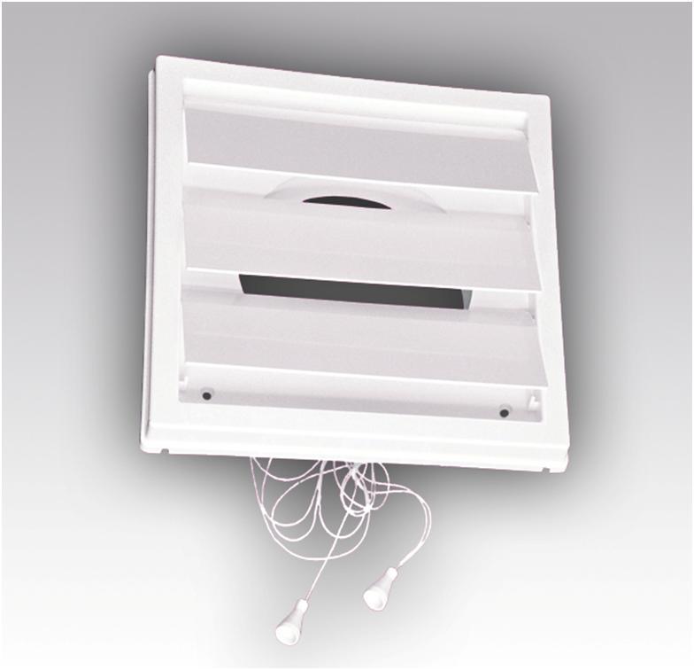 Управляемая вентиляционная решетка