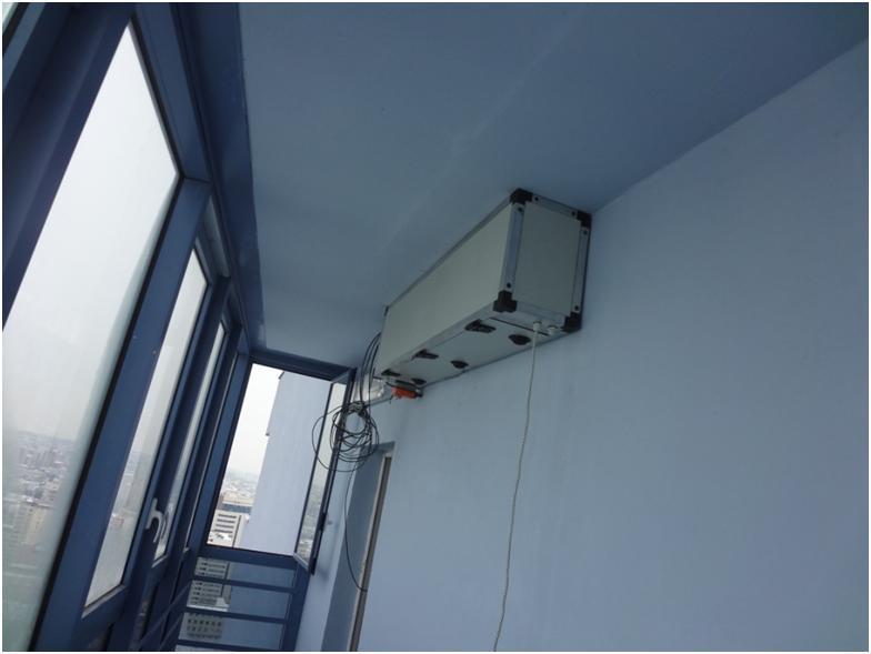 Система воздухообмена для жилого помещения