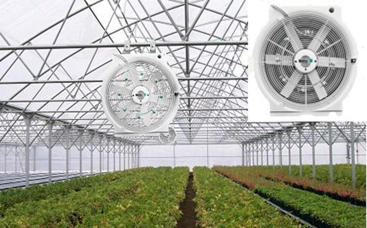 Специальный вентилятор для парника