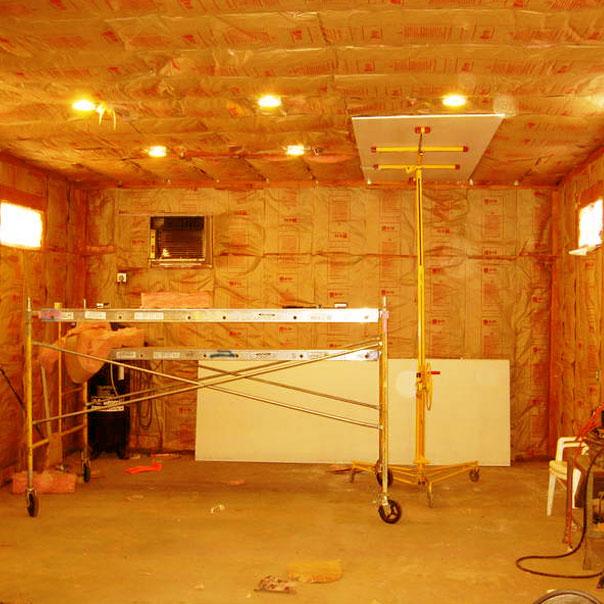 Освещение в подвале гаража своими руками